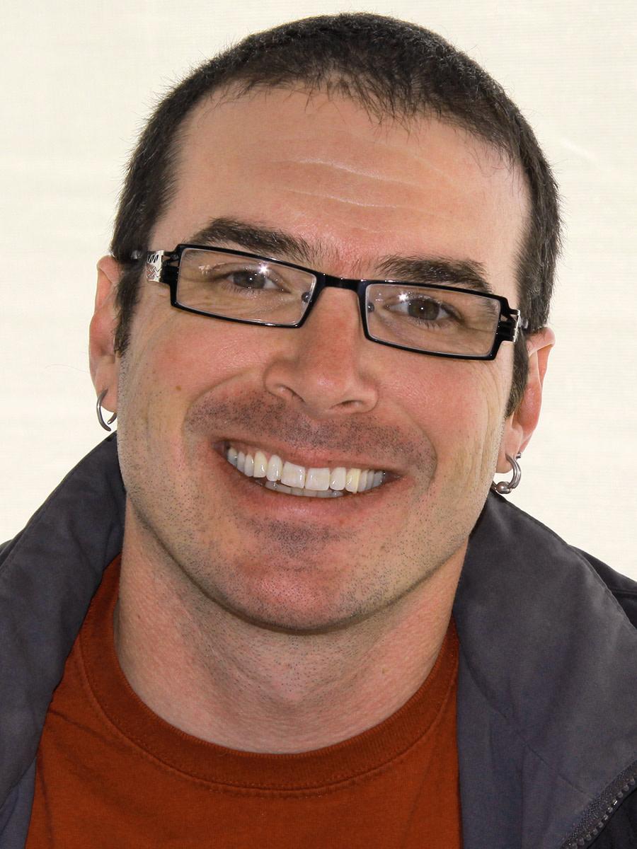 Author Paolo Bacigalupi at the 2012 Texas Book Festival, Austin, Texas, United States.