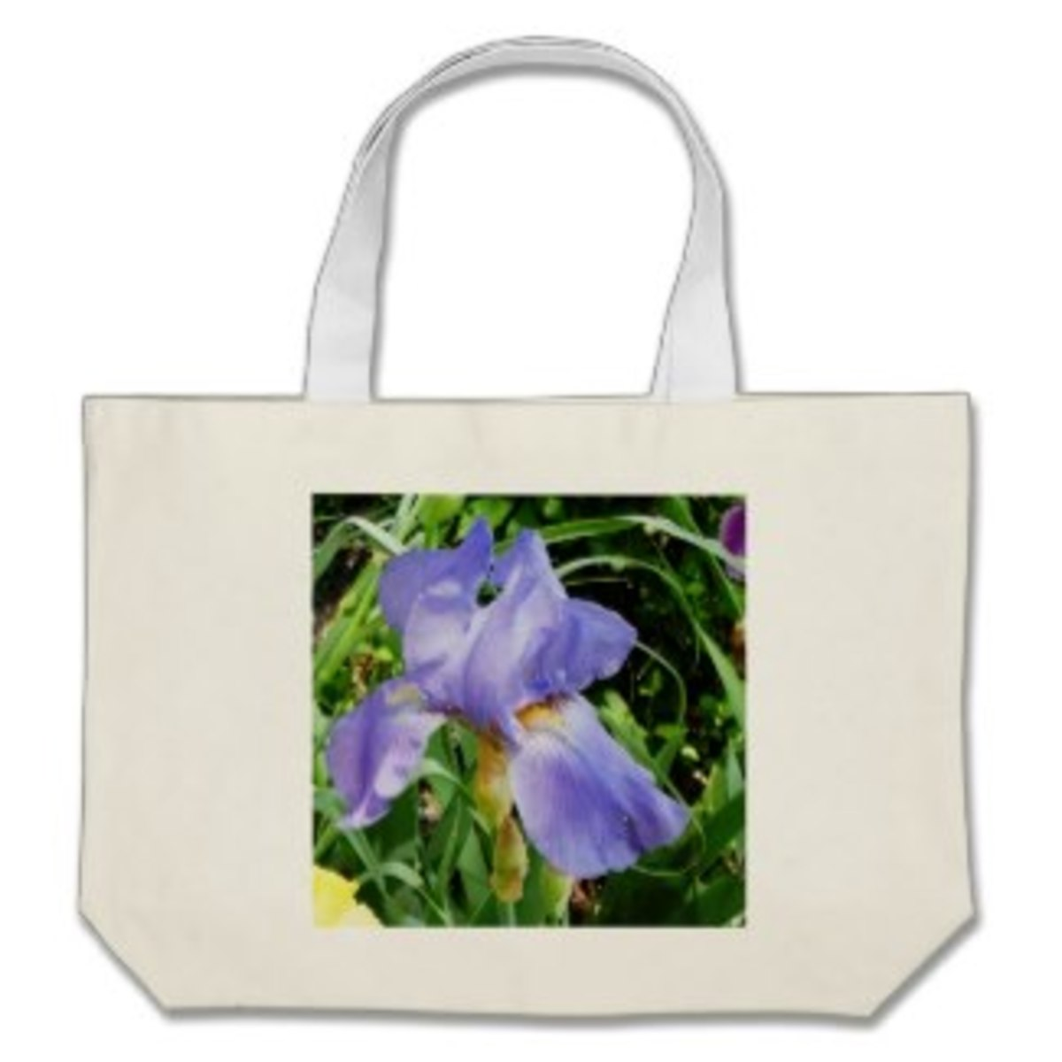 The gardener can always use another tote. This iris graphic is lovely.