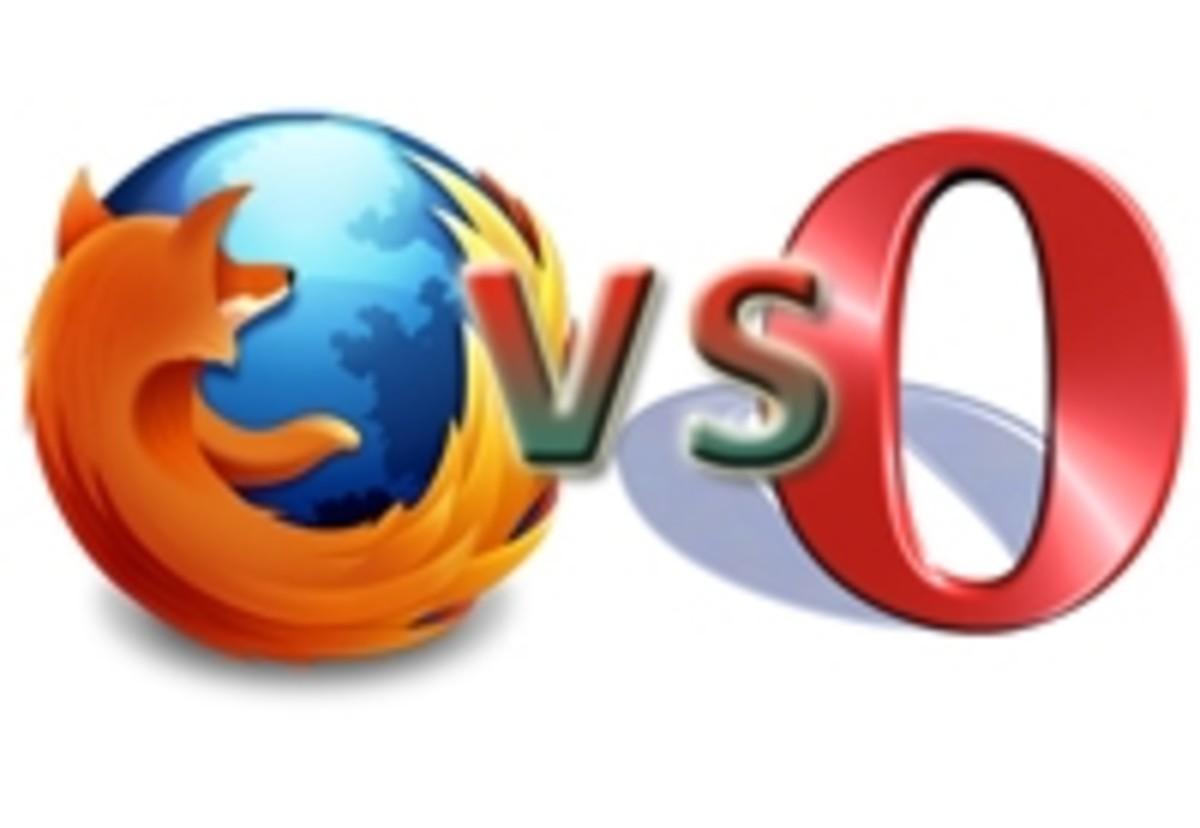 Firefox vs Opera