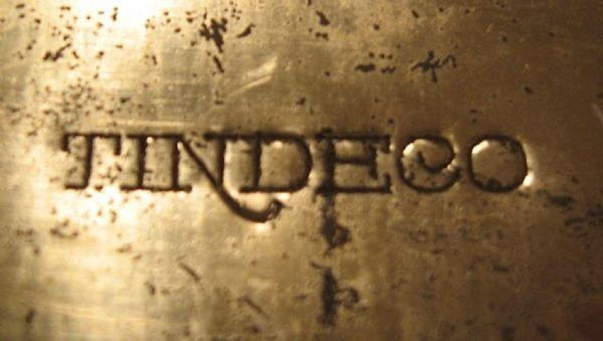 The Tindeco imprint.