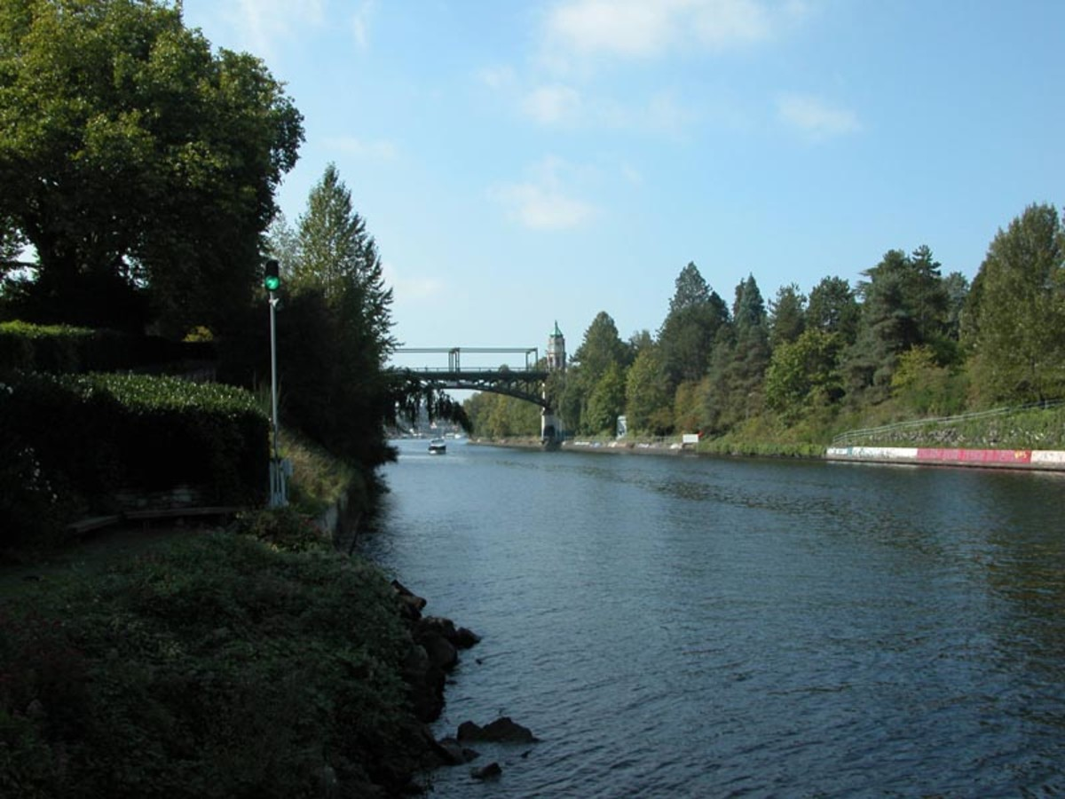 Montlake Cut - Seattle, WA
