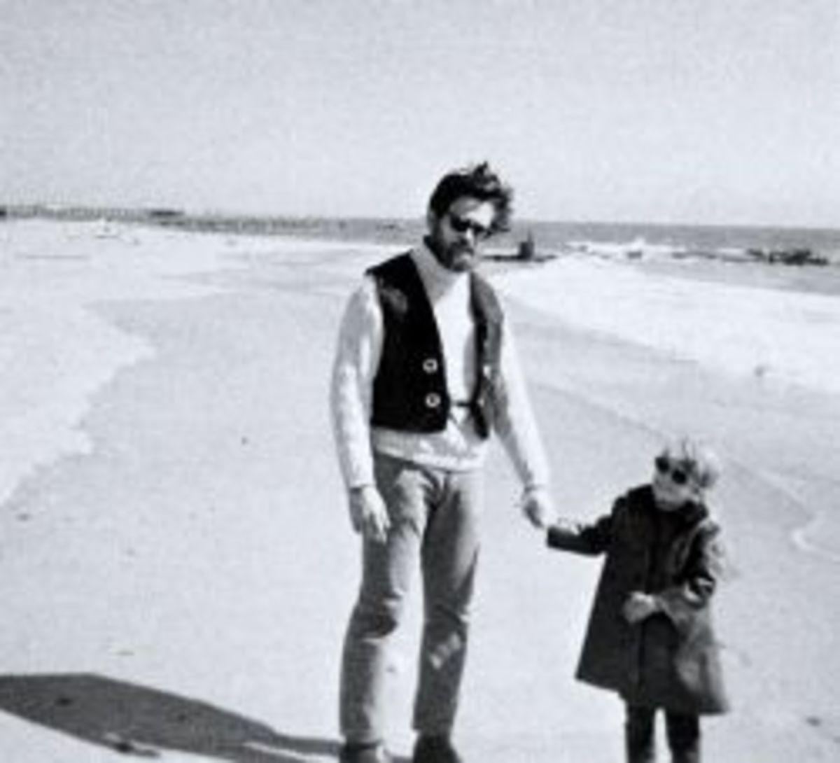 My Dad & I at Coney Island, circa 1969