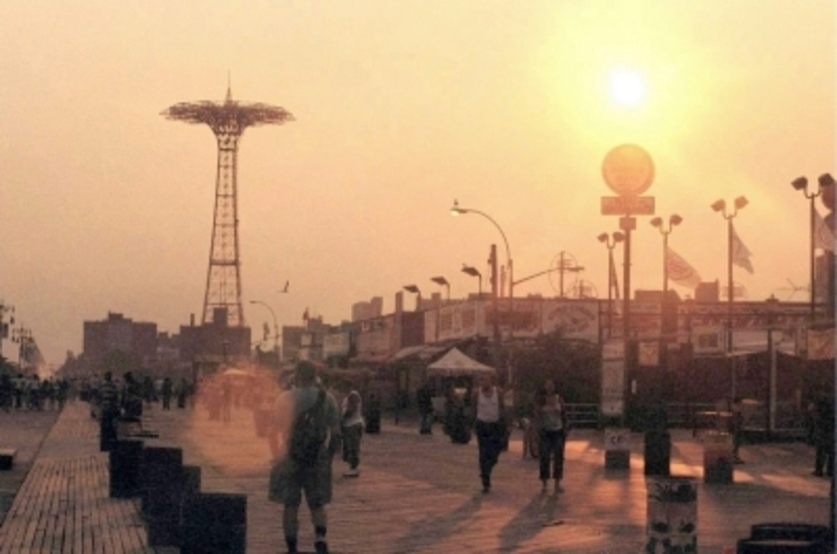 The Boardwalk at Sunset