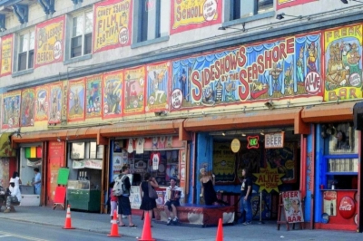 Sideshows by the Seashore (Surf Avenue & West 12th Street)