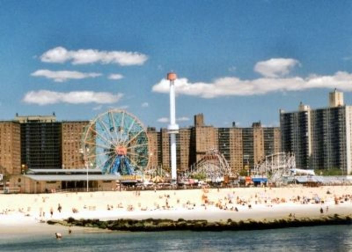 Coney Island - View from the Fishing Pier