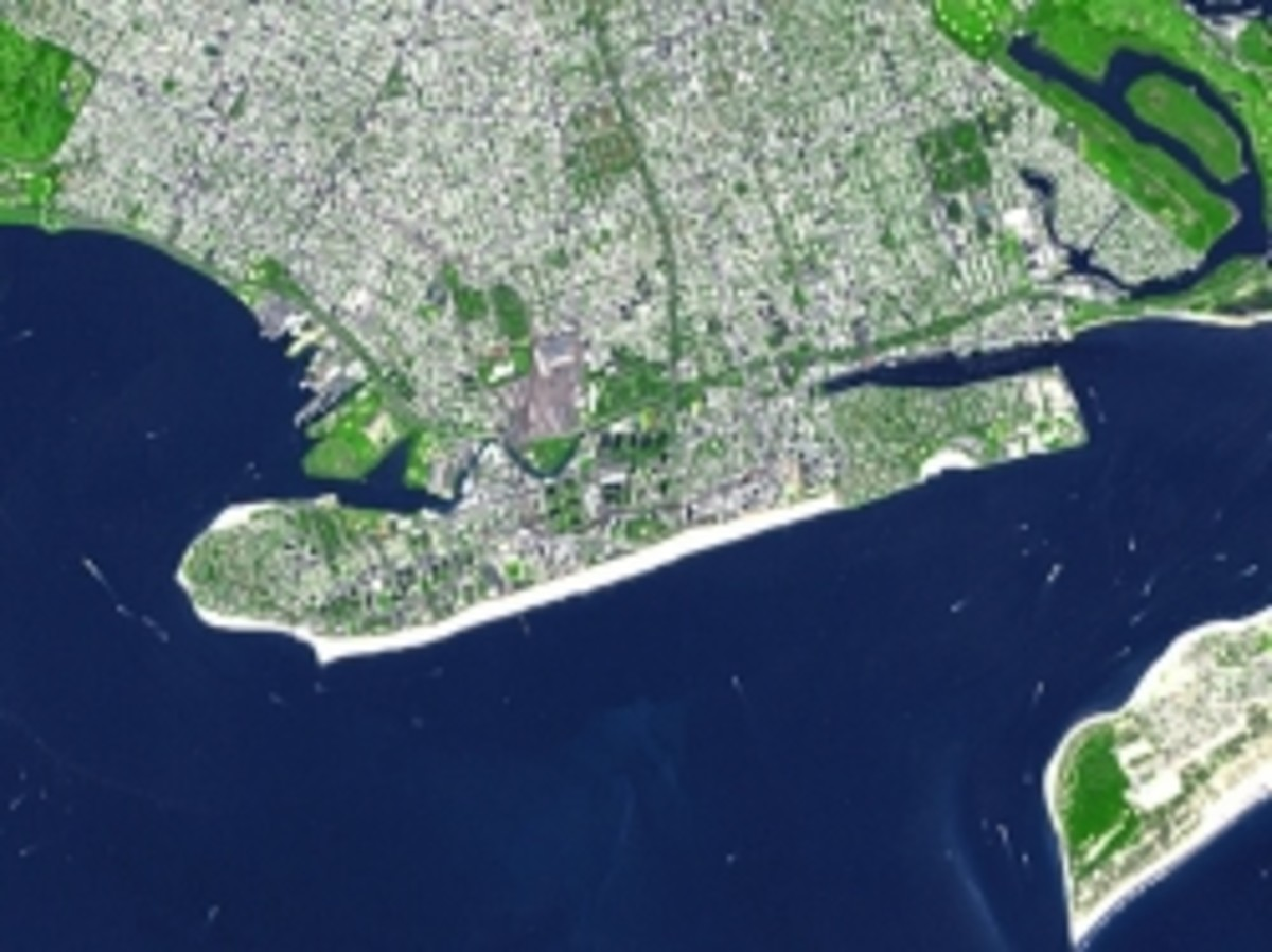 Aerial View of Coney Island (Photo courtesy of Wikipedia)