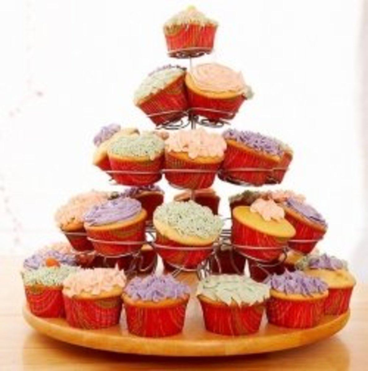 how-to-display-cupcakes