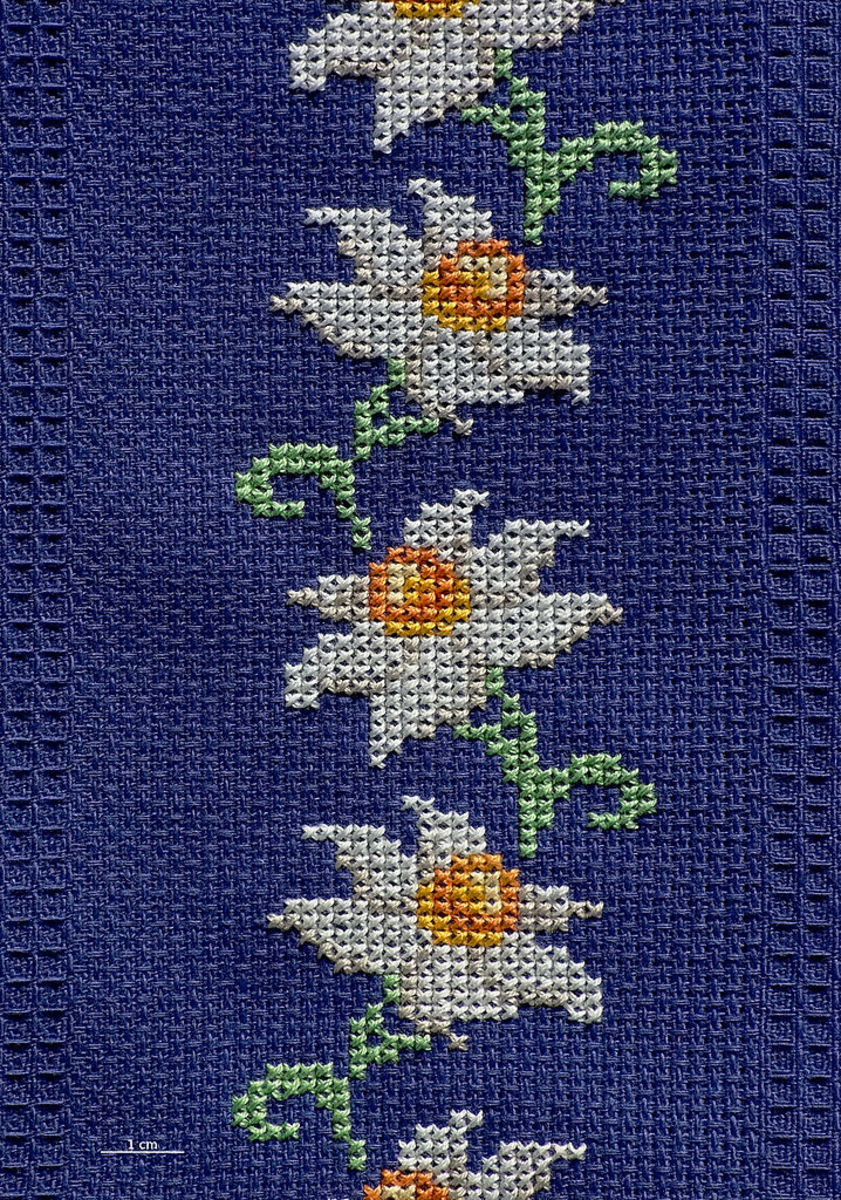 Free Online Cross Stitch Border Patterns Hubpages