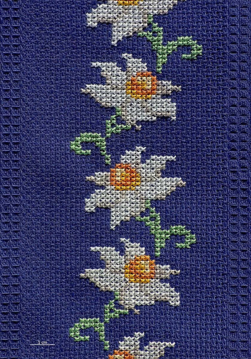 Beautiful cross stitch border