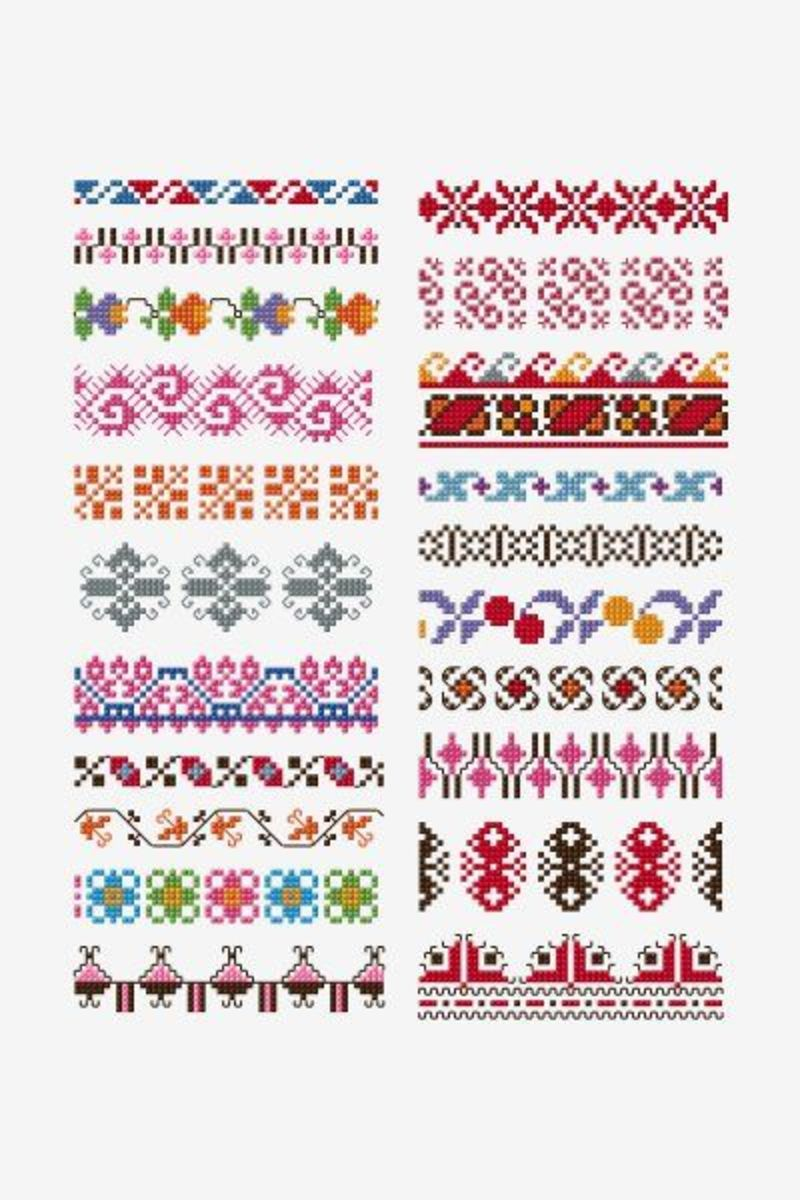 Free Online Cross Stitch Border Patterns