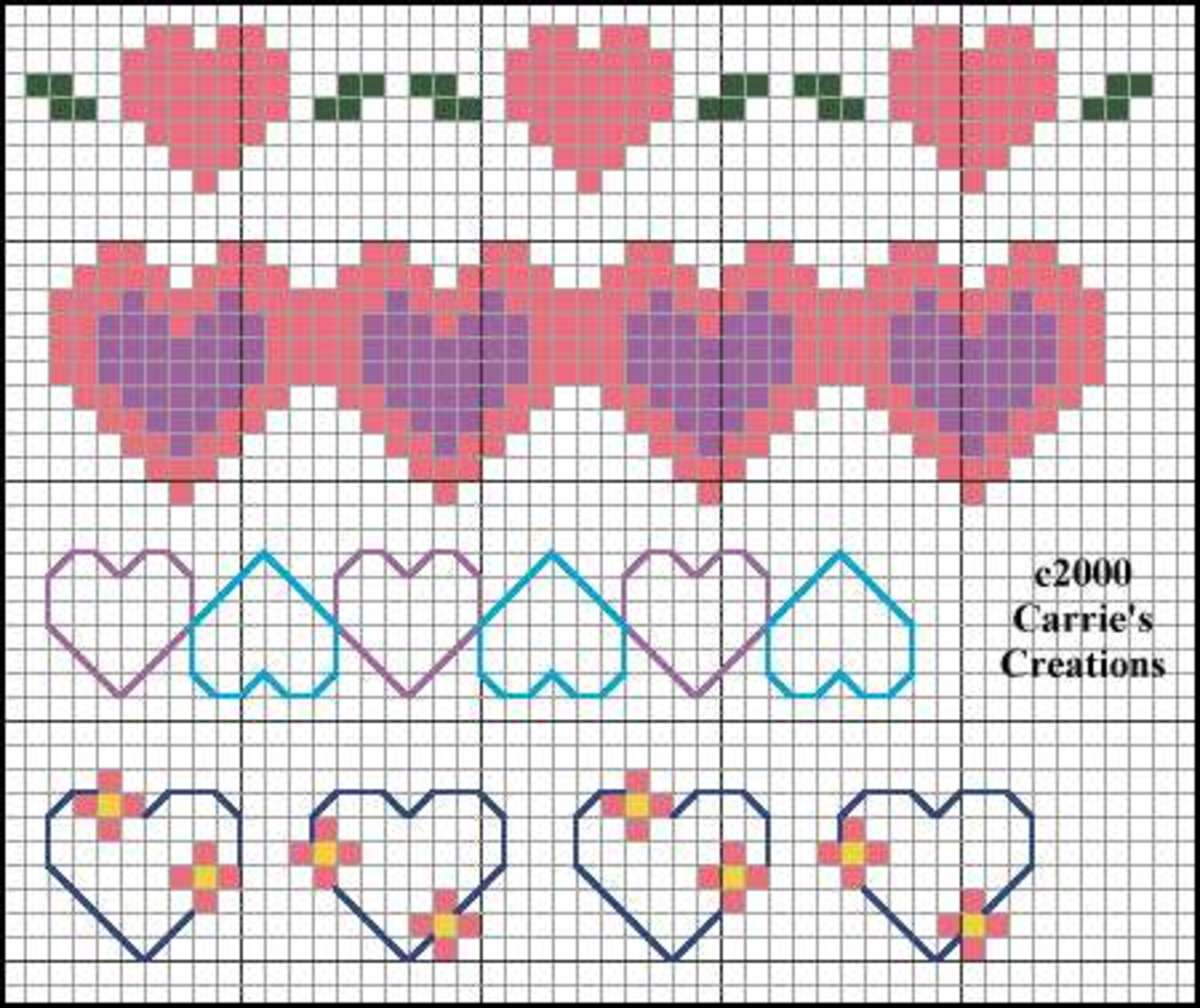 This pattern is not only adorable but easy to stitch.