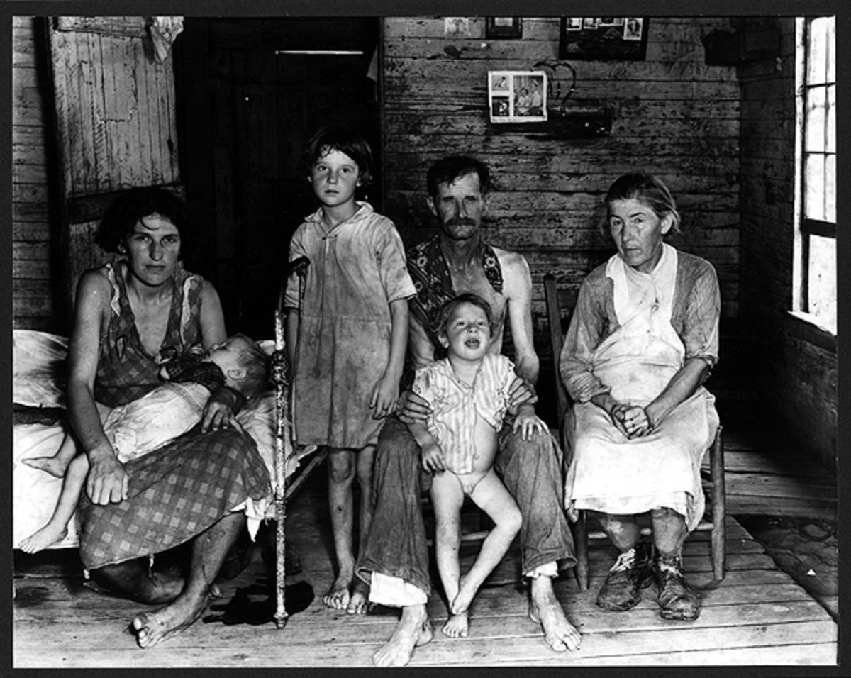 "WALKER EVANS ""POOR FOLKS AT HOME"""
