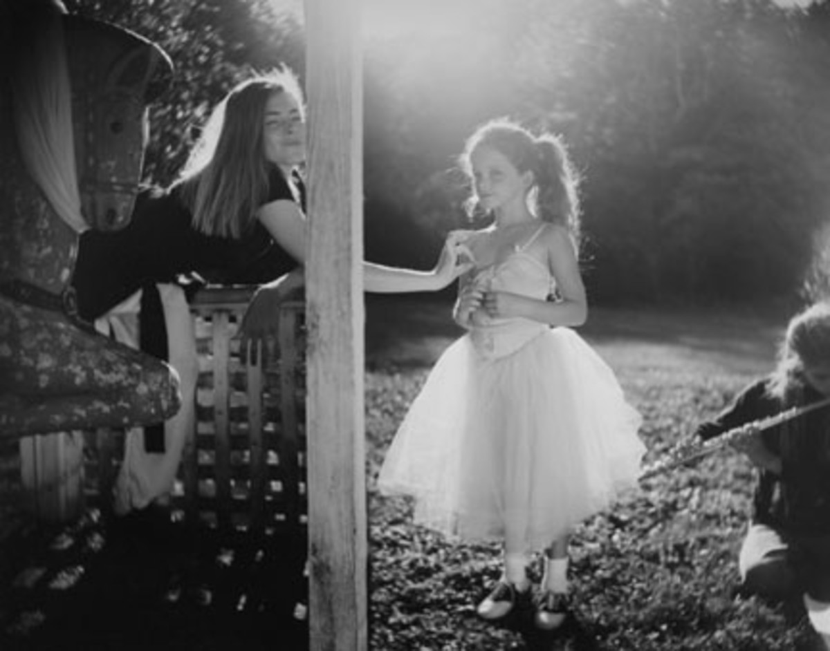 "SALLY MANN ""ANNA AND VIRGINIA 1991"""