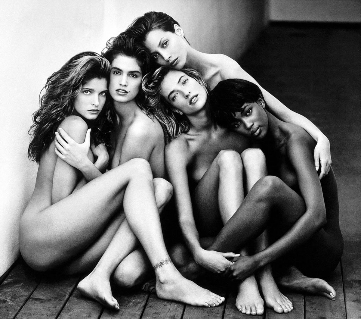 "HERB RITTS ""TOP MODELS 1989"""