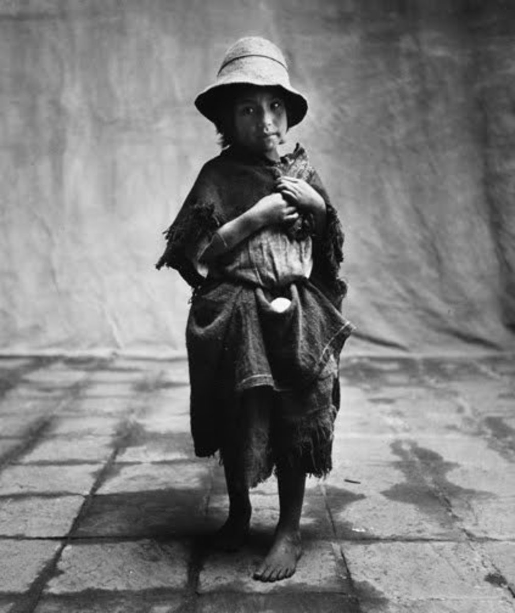 "IRVING PENN ""PERUVIAN CHILD"""
