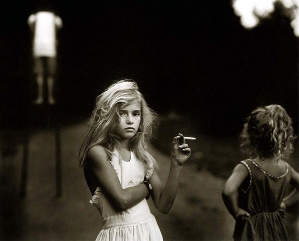 "SALLY MANN ""CANDY CIGARETTE 1989"""