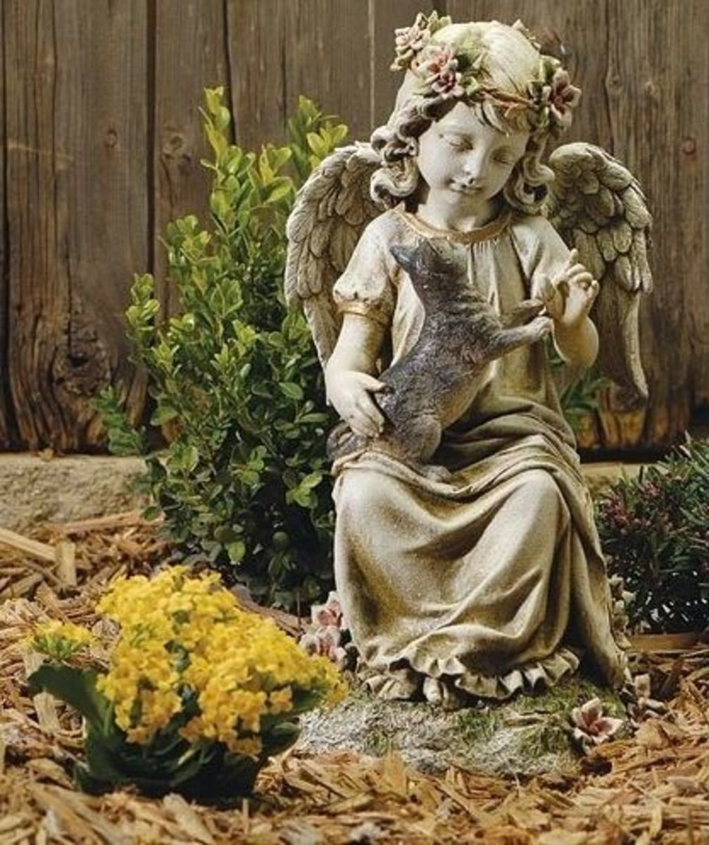 Garden Angel Statues hubpages