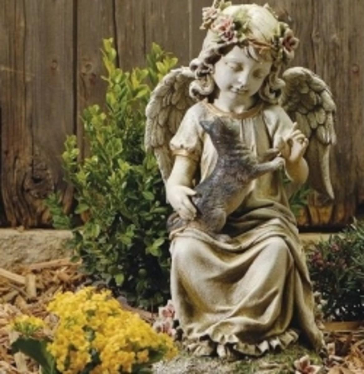 Garden Angel Statues