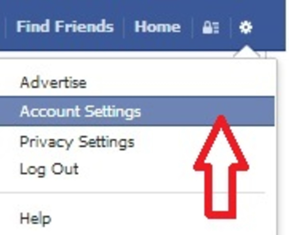 how to close facebook account