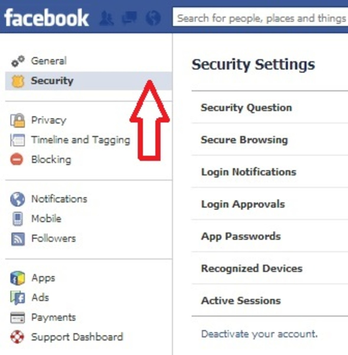 how-to-close-facebook-account