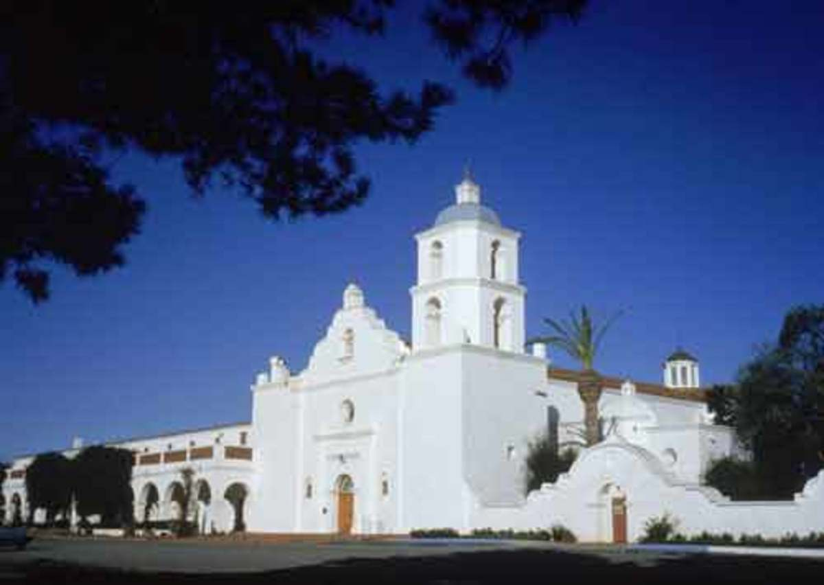 Father Peyri designed and then managed Mission San Luis Rey, in Oceanside, for thirty years.
