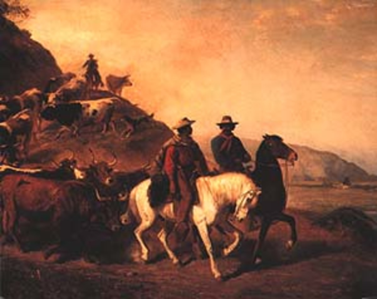 The crusading padres brought with them Spanish soldiers and Mexican Indian Christians.