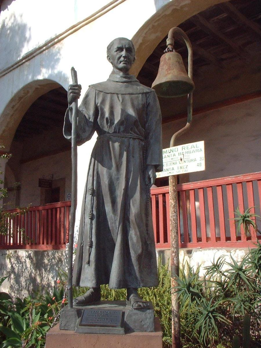 Spectral sightings of father Serra have been reported at the Carmel parish. His remains were entombed here.