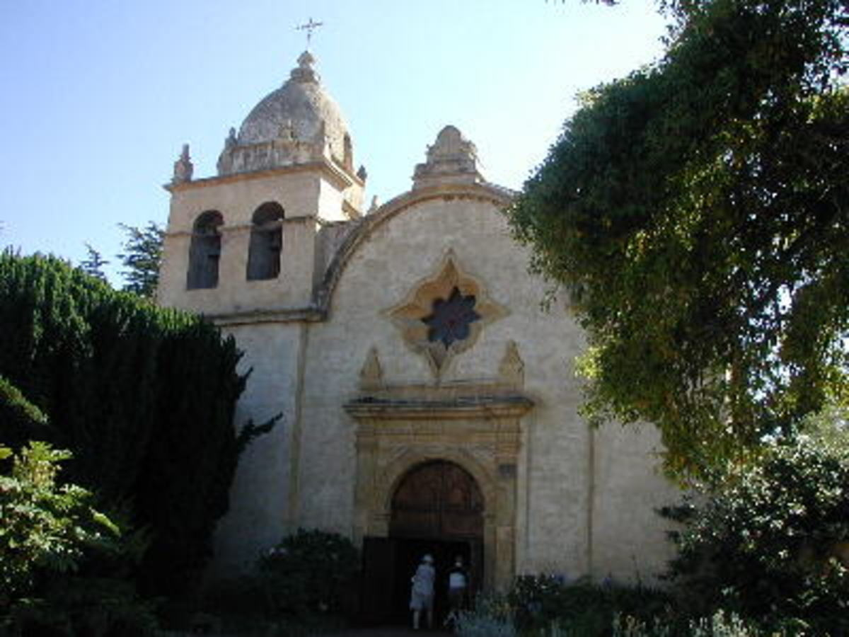 Mission San Carlos Borromeo de Carmelo in Carmel is one of the most beautiful and loved parish sites.