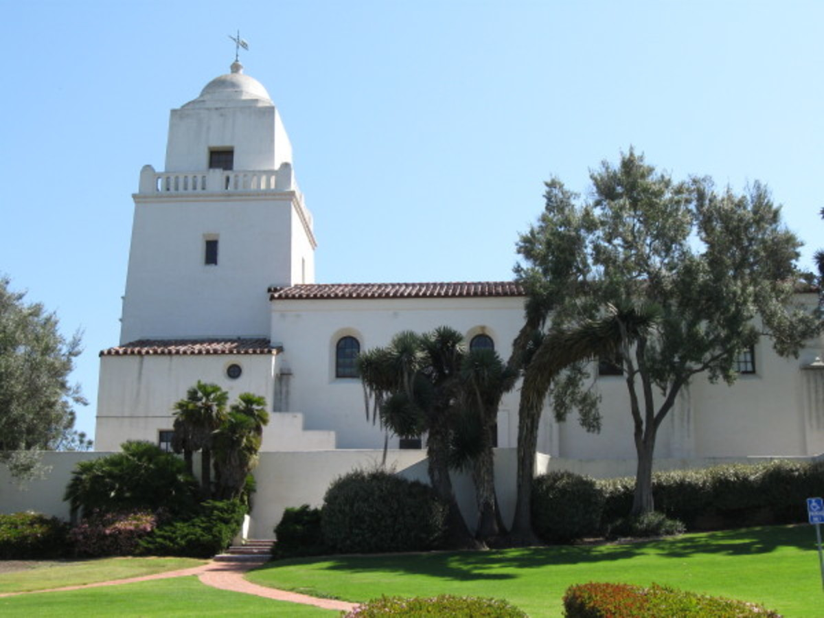Mission San Diego was the first established mission site, in Alta, California.