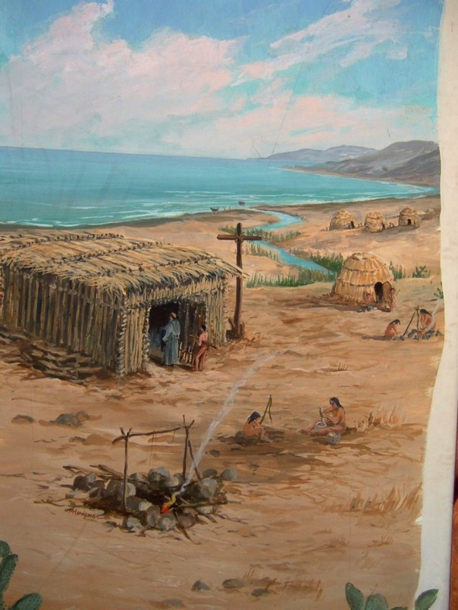 """The padres and """"neophytes"""" built communities around the missions."""