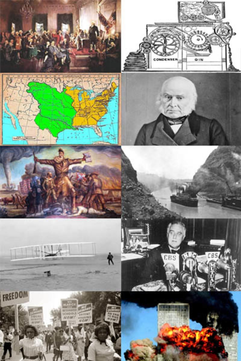 Top Ten Events in American History