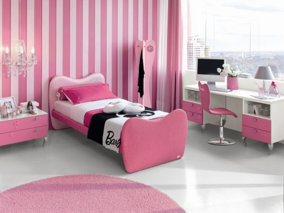 7 Barbie-Themed Hotel Rooms for the Eclectic Girly Traveler