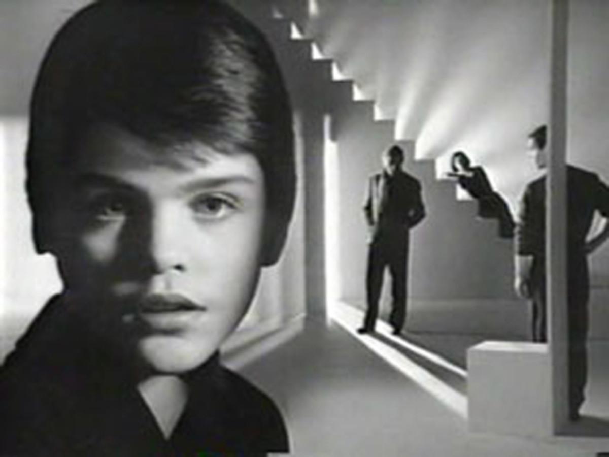 A still from Avedon's avant-garde 1985 Obsession ads for Calvin Klein.