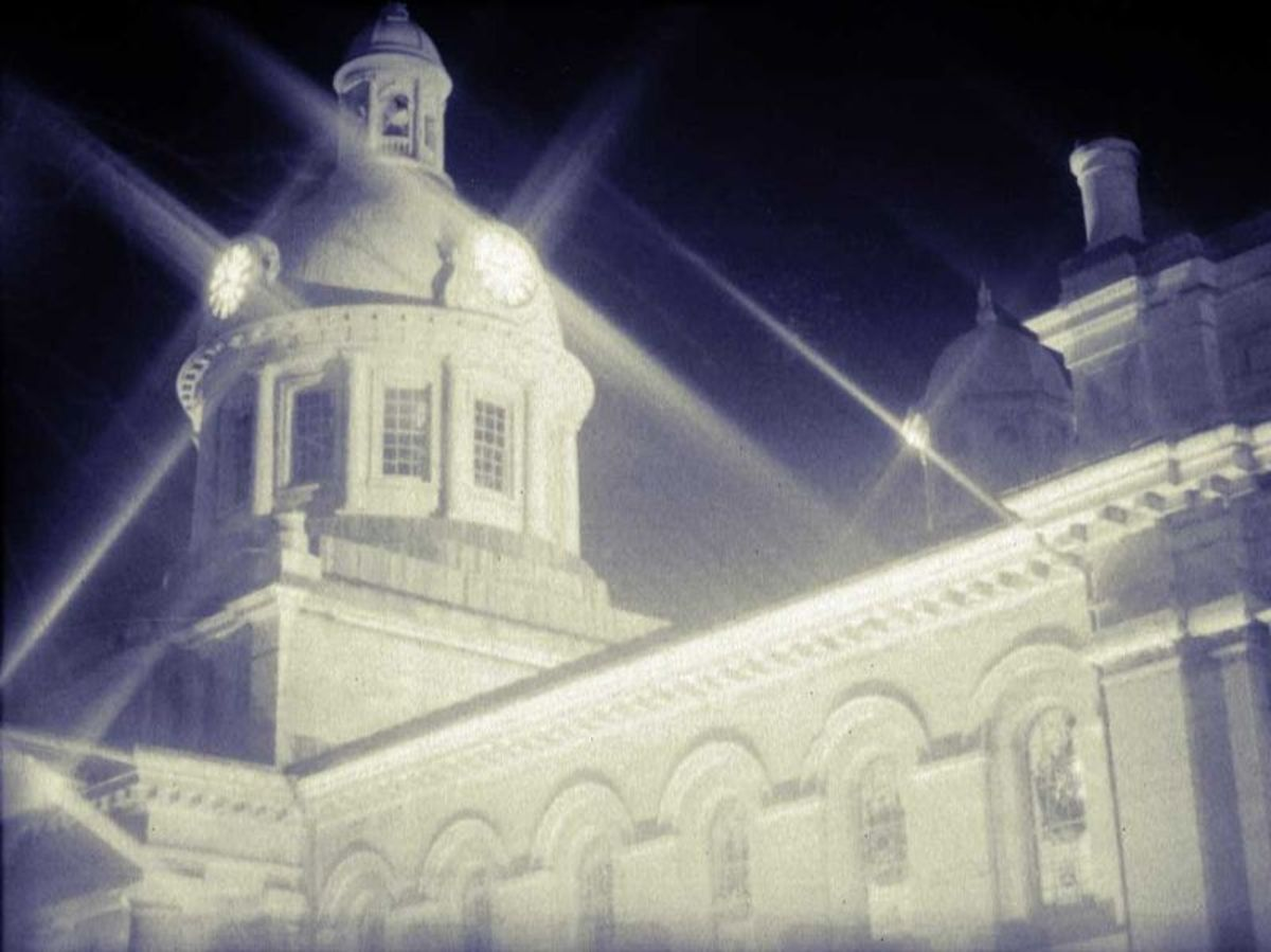 Kingston City Hall was designed by architect George Brown and built in the 1840s.