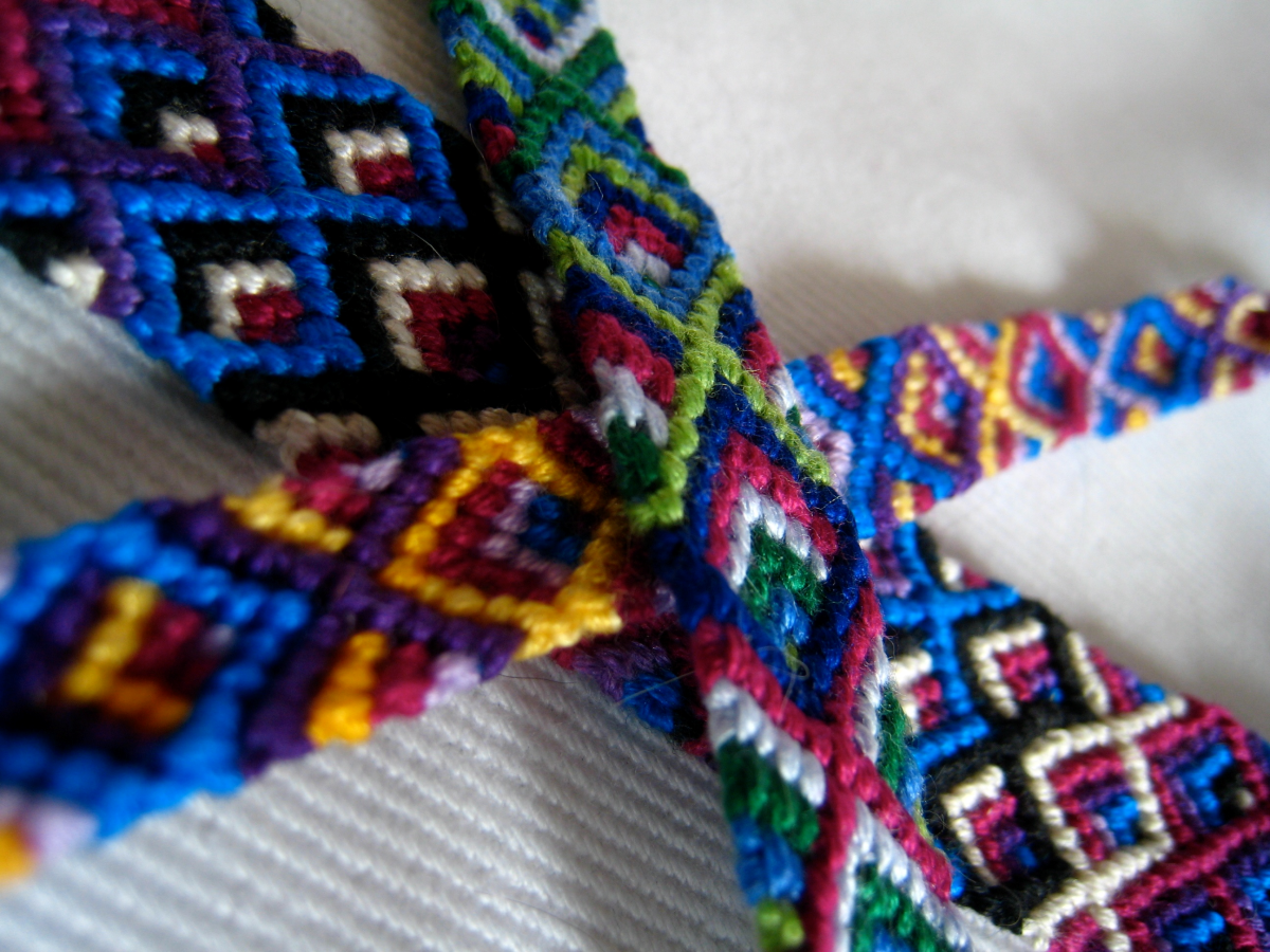 Free friendship bracelet patterns online