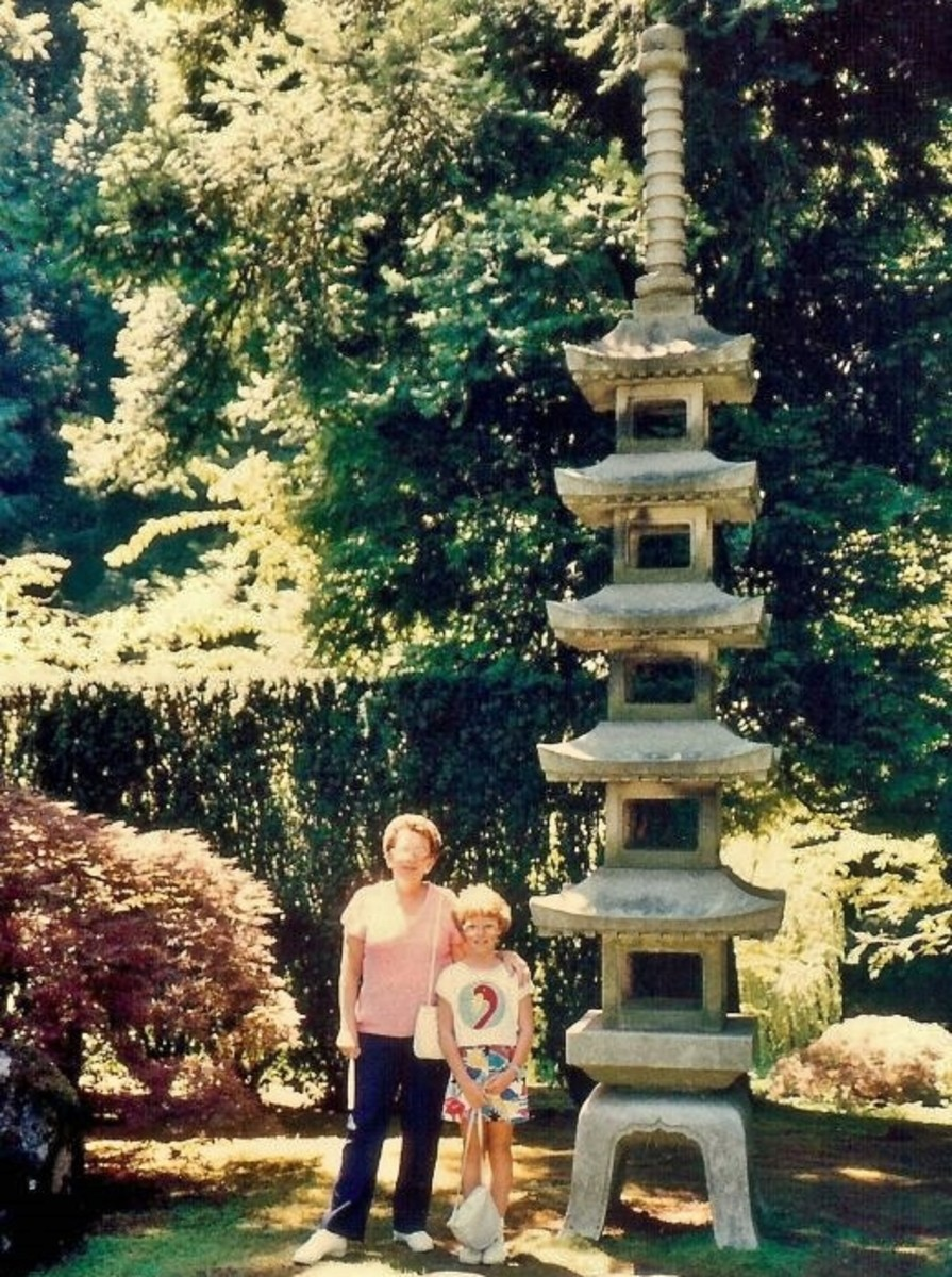 Portland Japanese Garden, Portland OR