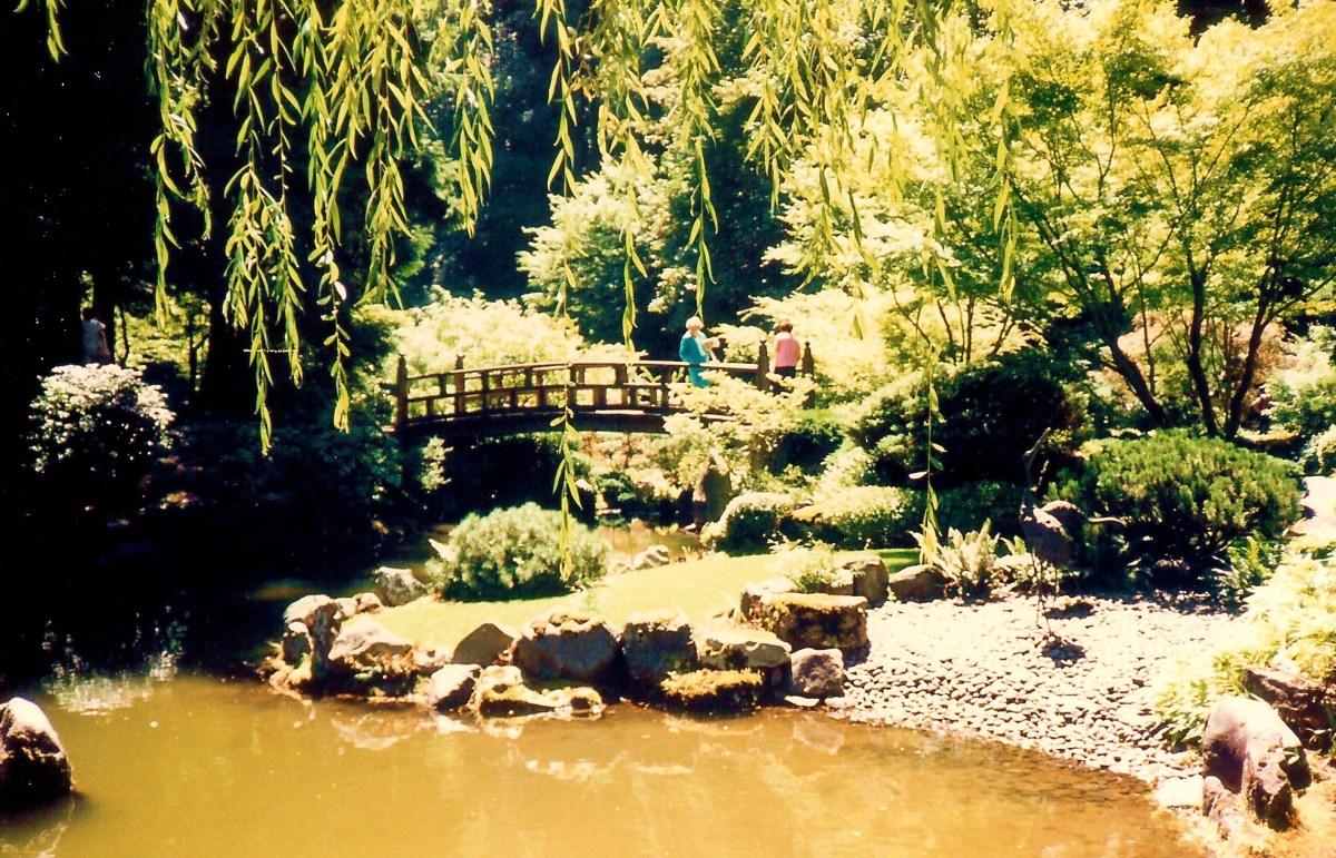 Portland Japanese Garden, Portland, OR - Strolling Pond Garden