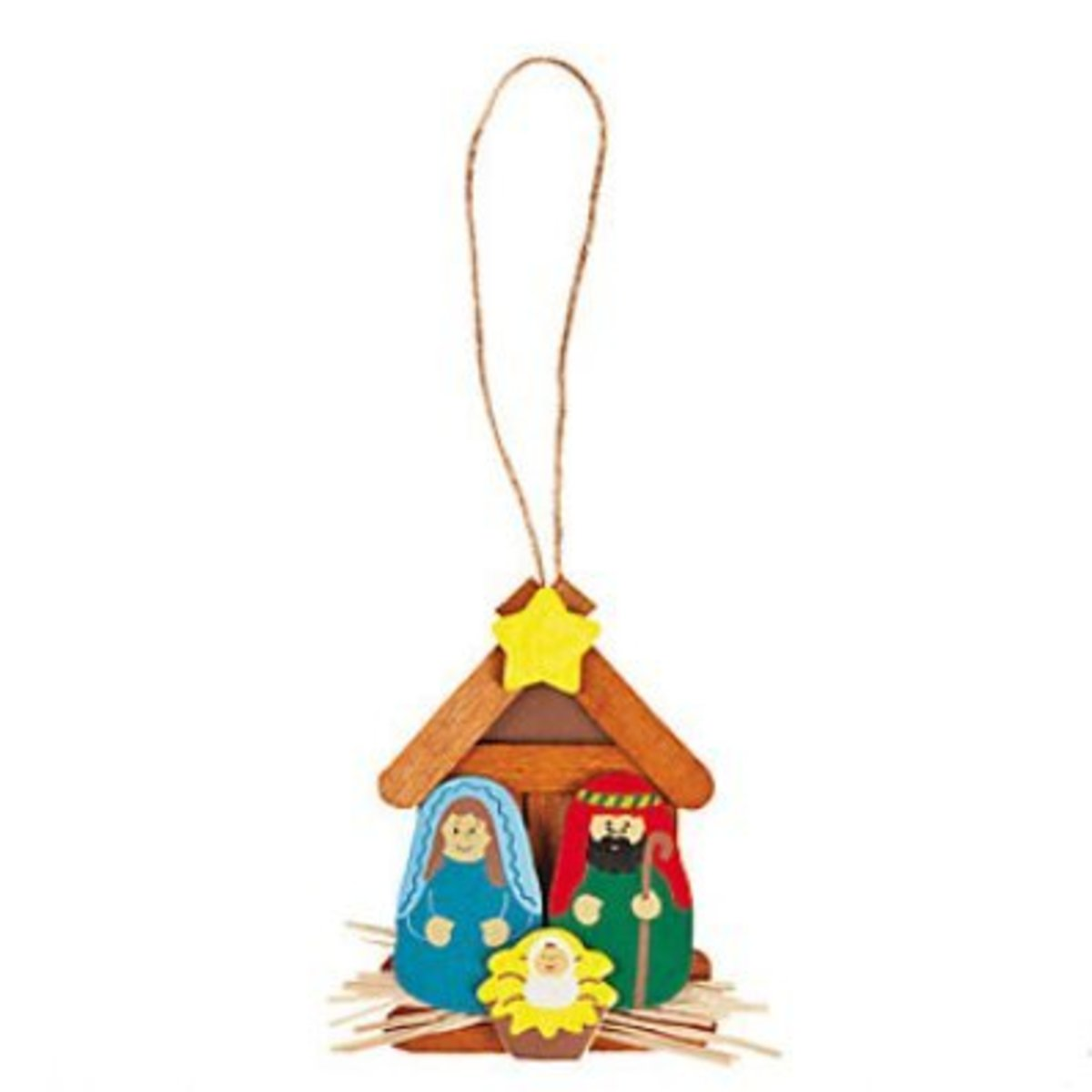 Wooden Nativity Kit