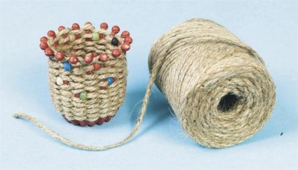 Ancient Culture Jute Basket Craft Kit (Makes 24)   Use for the miracle of the loaves and fish