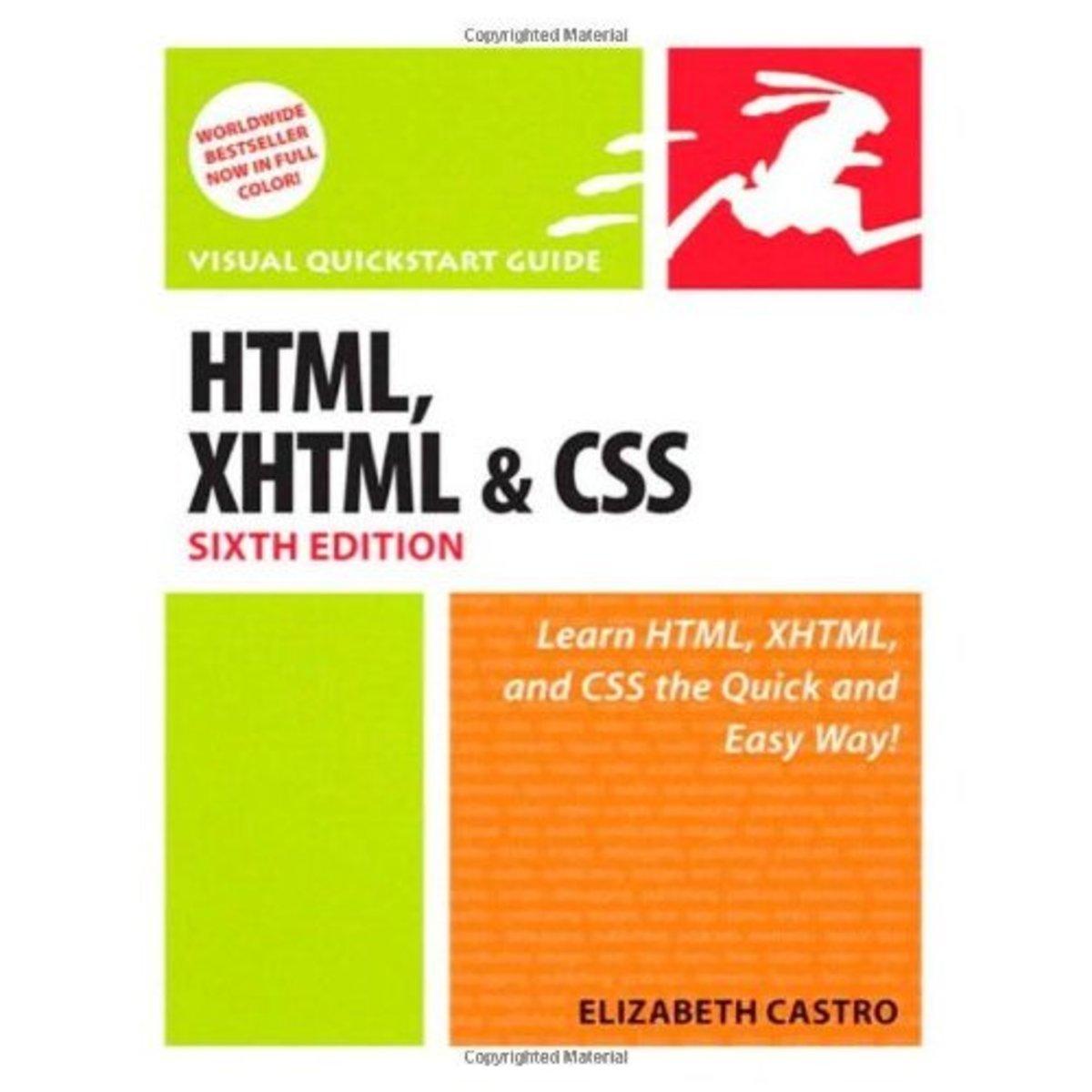 HTML, XHTML & CSS by Elizabeth Castro