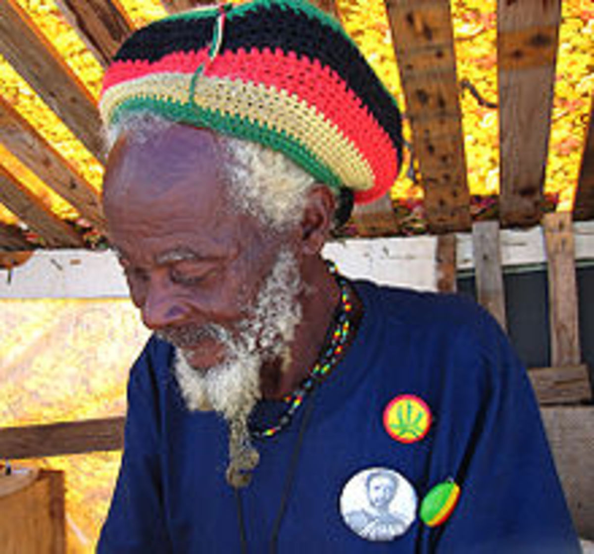 No doubt , this is a Rastafarian