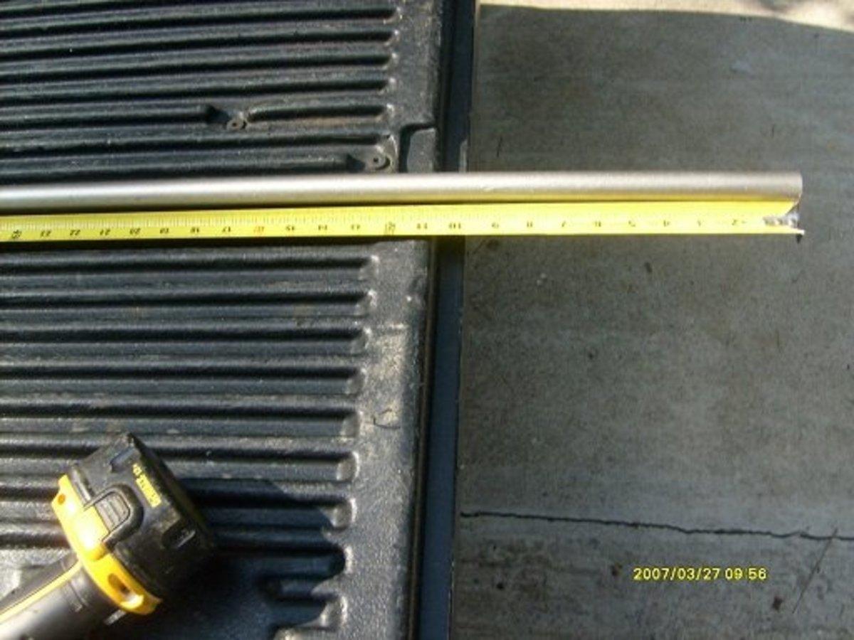 measure pipe