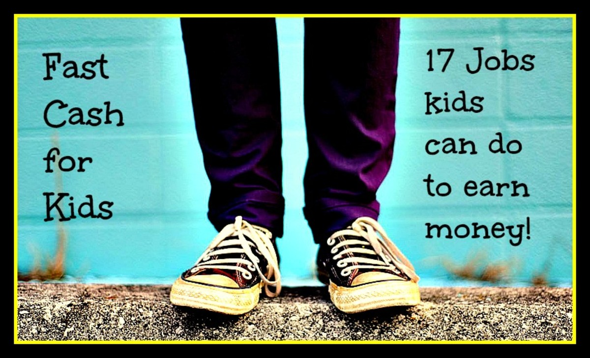 fast cash for kids 17 jobs kids can do to earn money hubpages