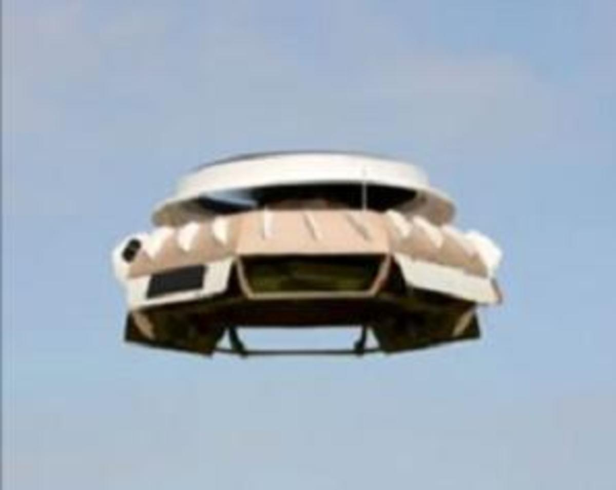 In 2009, the British police used this remote control surveillance flying saucer.