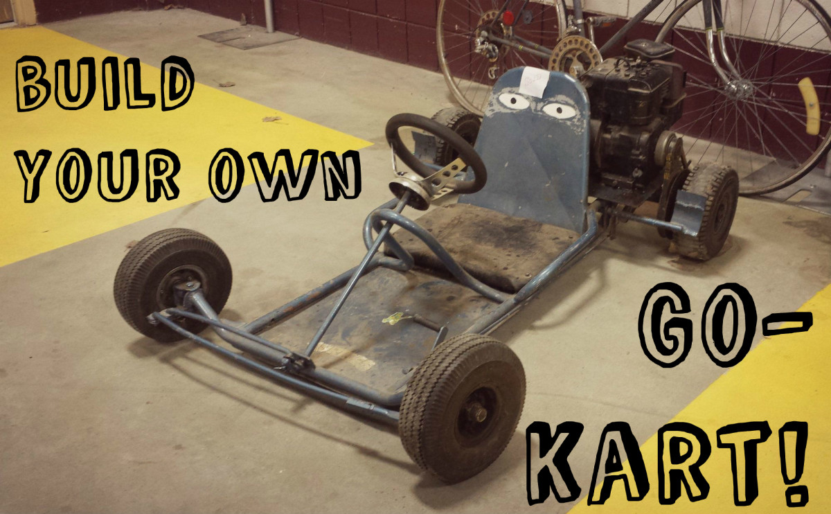What You Need to Build a Go-Kart