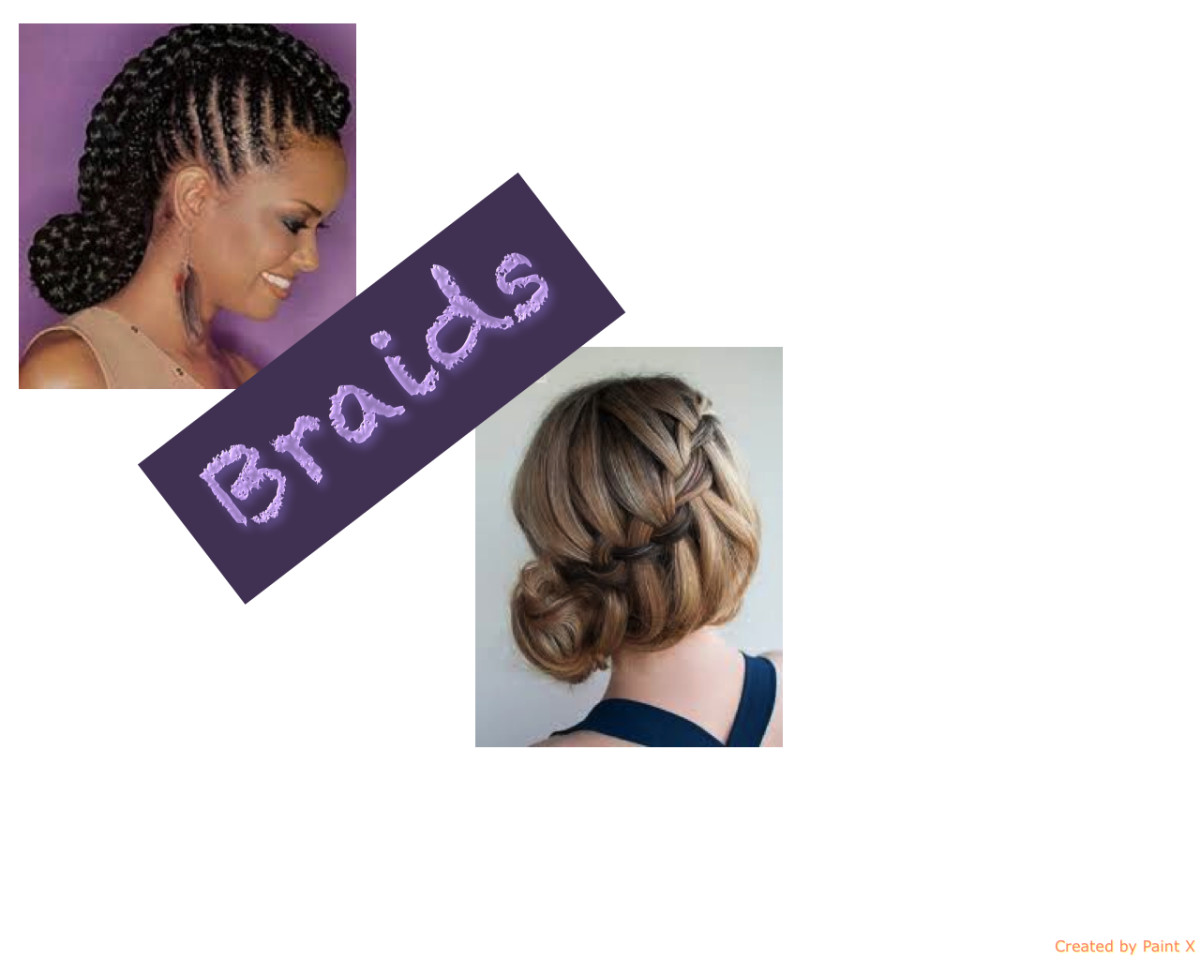 Easy Tutorial for Cornrows and French Braids