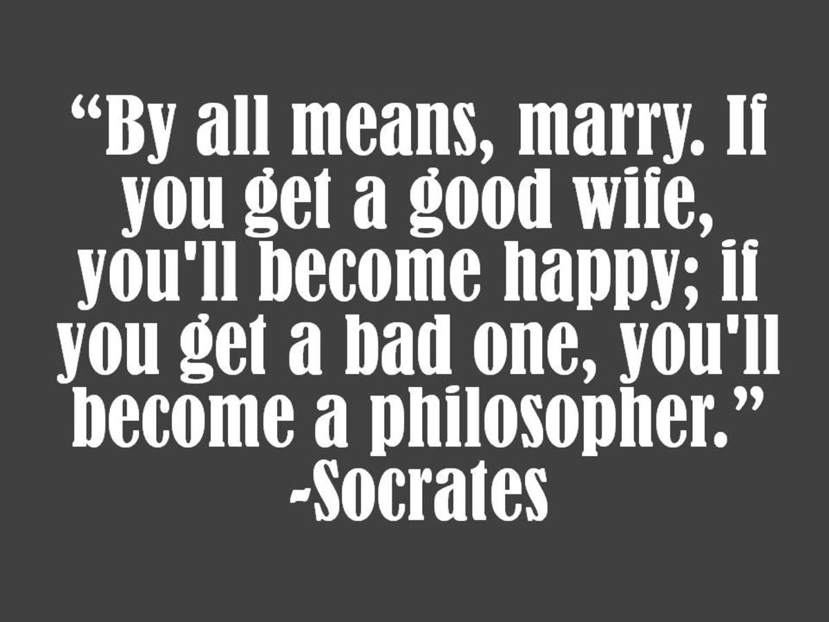 Soctrates Marriage Quote