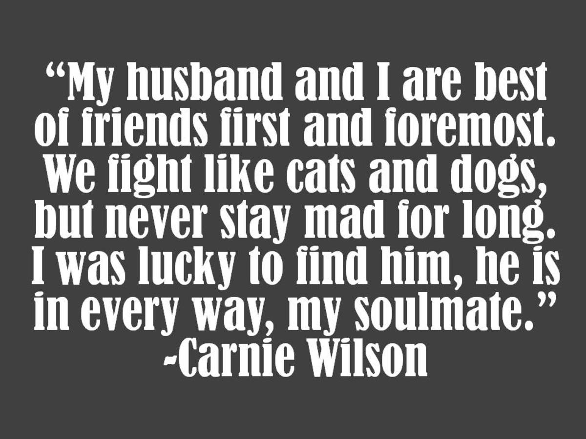 Carnie Wilson Marriage Quote