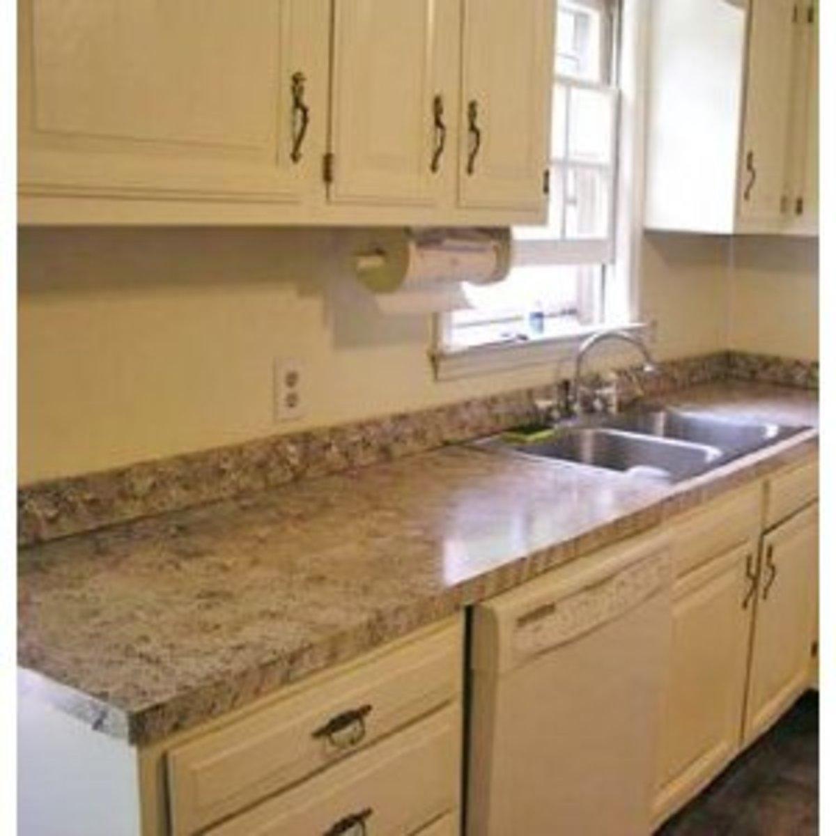 Giani Liquid Granite Sicilian Sand Faux Granite Countertop Paint Kit Kitchen Bath