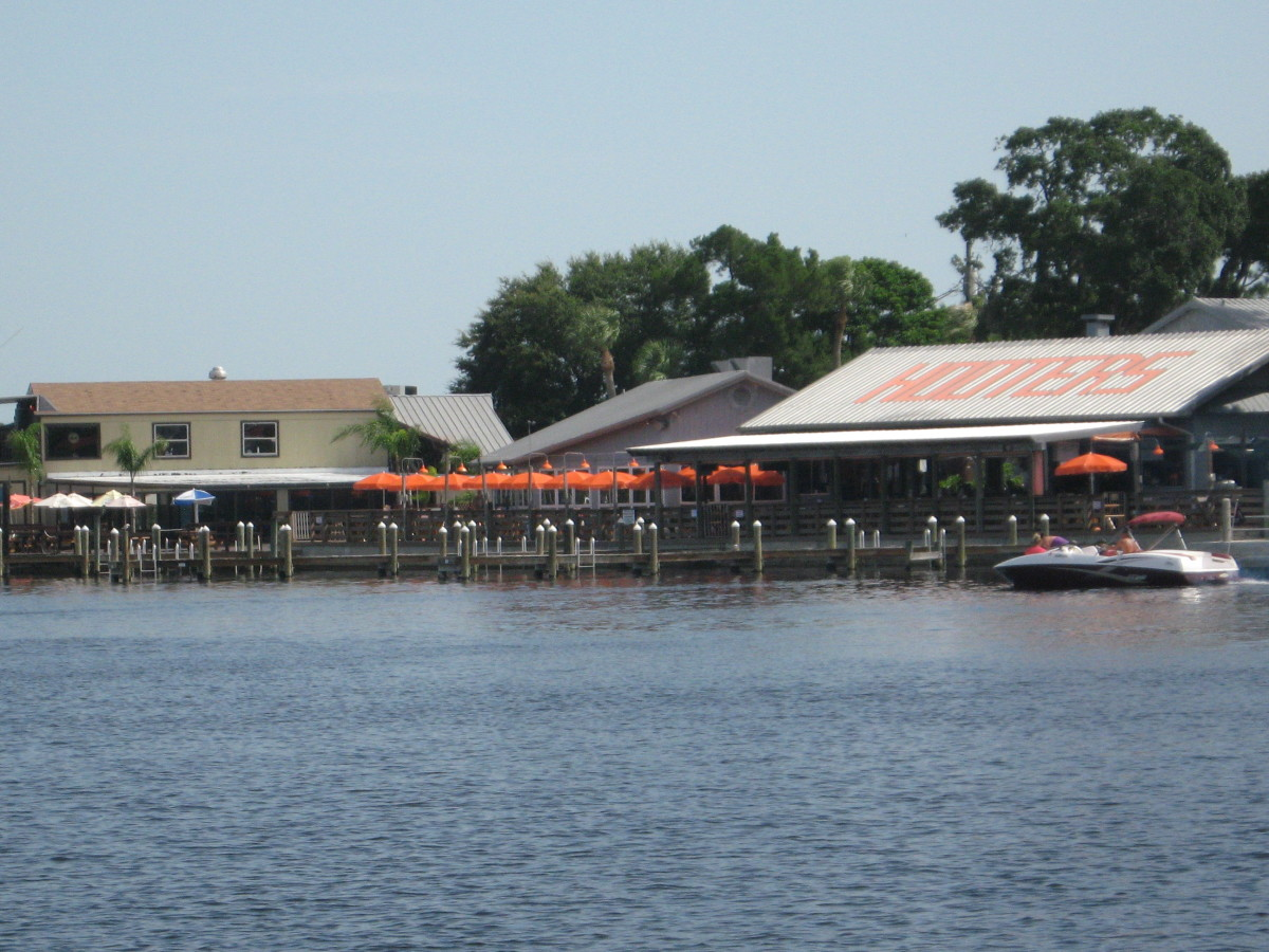 Hooter's in Port Richey.